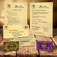 Hogwarts Akzeptanz Brief Geburtstag Geschenk Bundle f�r Harry Potter Fan! 1