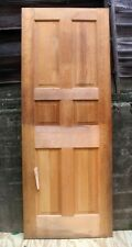 "30""x80"" NEW NOS Vintage Antique Old Solid Wood Wooden Interior Morgan Door Panel"