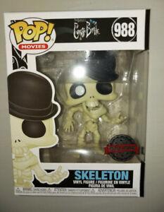 Corpse Bride Skeleton Bonejangles Pop Vinyl Special Edition 988