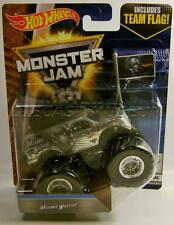 MOHAWK WARRIOR CHROME WITH TEAM FLAG FLASHBACK MONSTER JAM TRUCK HOT WHEELS 2017