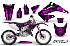 Honda CR125 CR250 Dirt Bike Graphic Sticker Kit MX Decal Wrap 02-08 NIGHTWOLF P