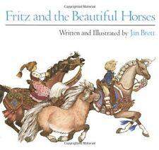 Fritz and the Beautiful Horses (Sandpiper Books) by Jan Brett
