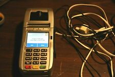 FIRST DATA FD130 CREDIT CARD PROCESSOR USED BUT WORKS GREAT SWIPES AND CHIPS