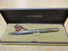 PARKER 75 STERLING SILVER BALLPOINT PEN NEW IN ORIGINAL   BOX MADE IN USA
