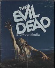 The Evil Dead BLU-RAY Steelbook Bruce Campbell Sam Raimi Unrated Brand NEW