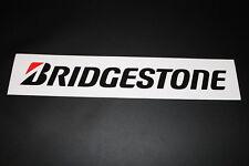 Bridgestone neumáticos tire PNEU Pegatina Sticker Adhesivo decal logotipo en letras xxl2