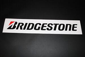 Bridgestone Reifen Tire Pneu Aufkleber Sticker Decal Kleber Schriftzug Logo XXL2