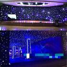 LED Stage Star Backdrop 13 X 13FT Wedding Curtain Retardant Background w/ Remote