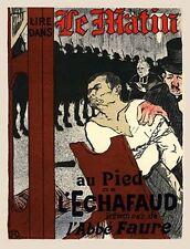 Henri de Toulous Lautrec Lithograph