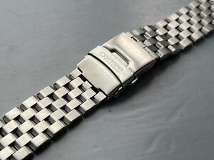 22MM SEIKO TURTLE STAINLESS STEEL WATCH STRAP FLAT LUGS FOR SEIKO watches new.
