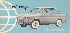 Daf 600 1960-61 UK Market Foldout Sales Brochure