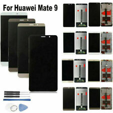 Full Glass LCD Display Touch Screen Digitizer+Frame for Huawei Mate 9 Smartphone