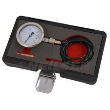 TURBO PRESSURE TEST GAUGE Liquid Filled Reads From -1 to 3 Bar & 2 Meter PU Tube
