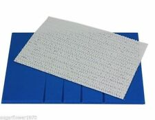 PME Veined Sugarcraft Rolling Out Board 250 x 170 mm Blue  NEXT DAY DESPATCH