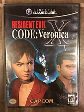 Resident Evil -- CODE: Veronica X (Nintendo GameCube, 2003) With Case