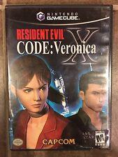Resident Evil -- CODE: Veronica X (Nintendo GameCube, 2003) With Case