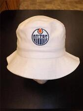 NEW Edmonton Oilers TODDLER ONE SIZE Reebok White Bucket Hat BIN-56