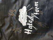 Halestorm VIP exclusive items: autographed cloth bag plus flags, bag. LZZY