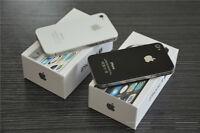 sealed box iPhone 4S unlock 16GB Smartphone unlocked (white/Black)