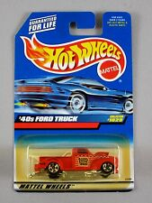 Hot Wheels '40s FORD TRUCK #1029 (1999) Custom 1940 Ford Pickup Dragster