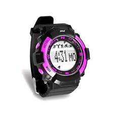 Pyle Sports Watch, Sleep Monitor, Pedometer Step Counter & Stop Watch (Pink)