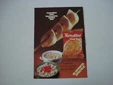 advertising Pubblicità 1971 TORTELLINI STAR