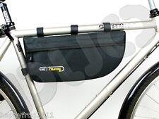 NUOVA Bici Bicicletta Telaio Borsa Bagaglio Pouch collocazione-Go! viaggio