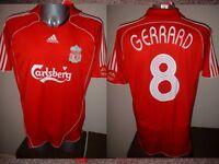Liverpool Adidas GERRARD Euro Shirt Jersey Soccer Football Adult XL Top England