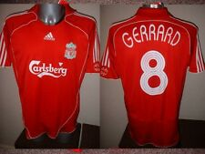 Liverpool Adidas GERRARD Adult M Euro Shirt Jersey Soccer Football England 2006