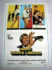 HARRY IN YOUR POCKET Vintage Movie Film Poster JAMES COBURN MICHAEL SARRAZAN