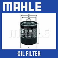 Mahle Oil Filter OC196 - Fits Mitsubishi, Vauxhall - Genuine Part