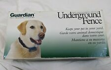 Guardian Underground Fence - Nwt parts only - no collar no vhs tape