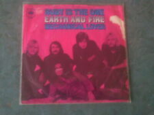 7 inch Single RUBY IS THE ONE  von EARTH AND FIRE (1970)    °39