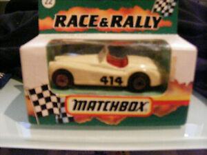 MATCHBOX  RACE & RALLY  #22  CAR JAGUAR XK120  MADE 1993