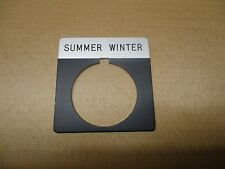 ALLEN BRADLEY 800T-X552 Summer Winter LEGEND PLATE *NEW*