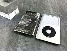 silve faceplate U2 metal back housing case for iPod 6th gen classic 80gb 120gb