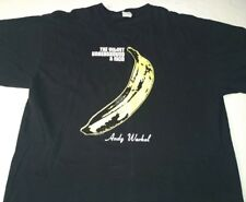 The Velvet Underground and Nico Andy Warhol Banana Men XL Shirt Lou Reed