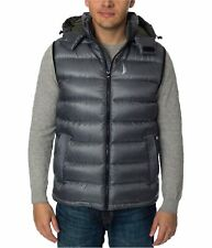 Nautica Mens Down Puffer Vest, Grey, XX-Large