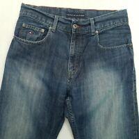 Tommy Hilfiger  Mens HEAVY DENIM Vintage Jeans W30 L32 Blue Regular Straight