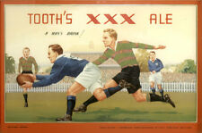 Tooth's XXX Ale Souths v Newtown 325x500mm photoposter beer rugby league