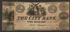 More details for rare the city bank state of rhode island two dollar banknote 1837 usa