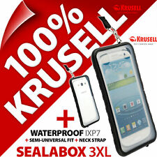 Krusell Sealabox 3XL Waterproof Mobile Smart Phone Case Cover Pouch Underwater