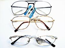 3 New READING GLASSES  +2.25  Men's Variety fashion Frames Quality and comfort