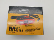 Roadshock Portable 12 Volt Auto Car Heater Defroster with Light Model 60525