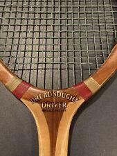 Vintage Harry C. Lee Dreadnought Driver Tennis Racquet