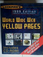 VINTAGE! WORLD WIDE WEB YELLOW PAGES - LUCKMAN´S - 1999 EDITION. - GUIA WWW