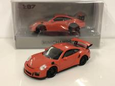 Minichamps 870063220 Porsche 911 GT3 RS 2013 Lava Orange 1:87 Scale
