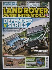 Land Rover Owner International August 2018 Defender Series III Discovery Camper