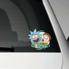 Get Schwifty- Rick and Morty- Vinyl Decal Sticker- full colour