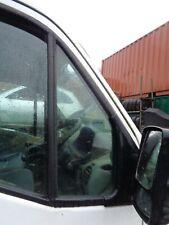1//4 glass renault master movano interstar driver door breaking parts van
